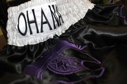 Muay Thai Shors- Purple & Black