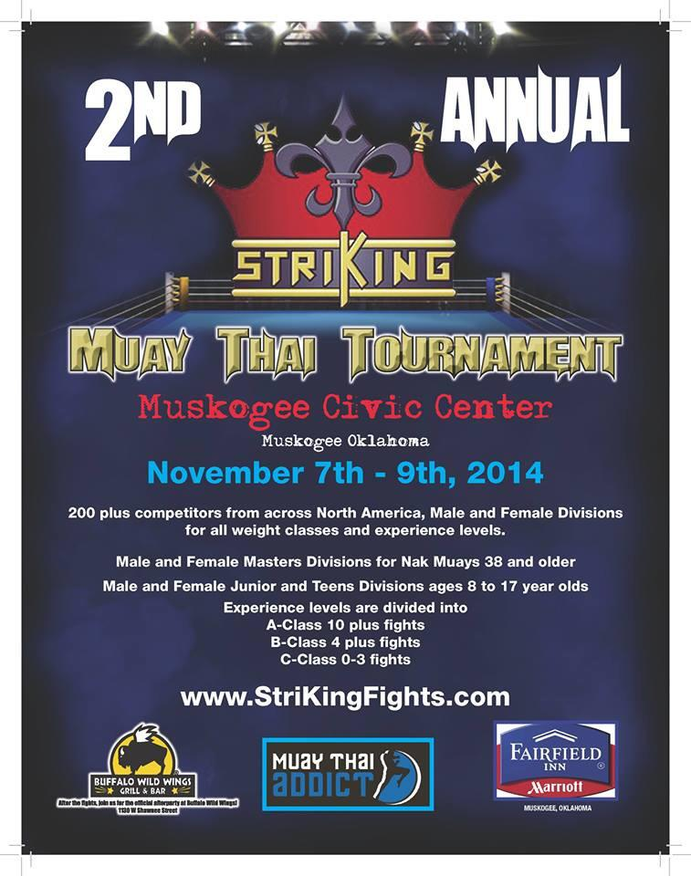 StriKing Muay Thai Tournament