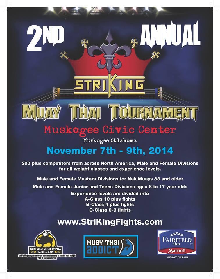 StriKing Muay Thai Tournament