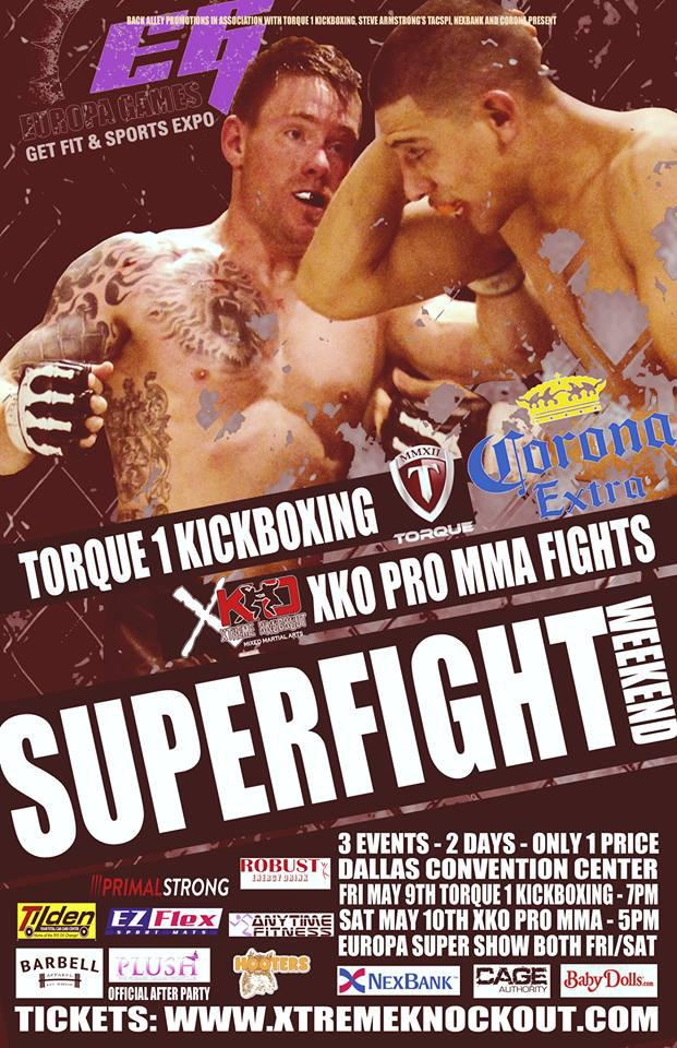 Torque 1 Kickboxing- Europa Center