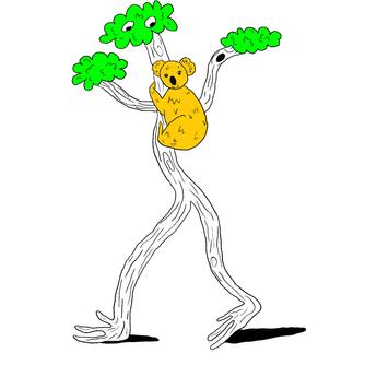 I AM THE TREE AND YOU ARE THE KOALA!