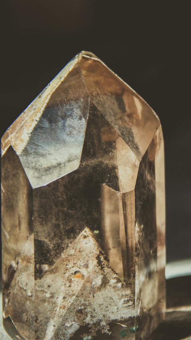 Healing crystal..