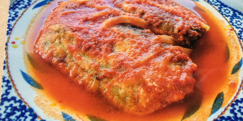 Chiles Rellenos (Stuffed Poblano Peppers) ($45/person)