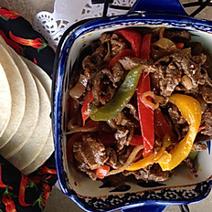 Chicken or Beef Fajitas for 4 - GF