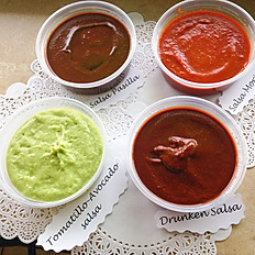 Combo Table Sauces (4x8oz each) - GF
