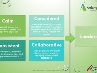 Leading in a calm, considered, consistent and collaborative way