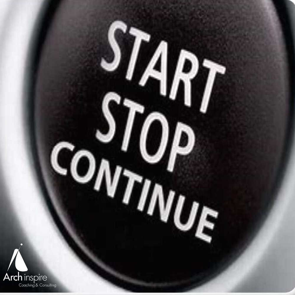 Start, Stop, Continue