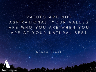 Values should matter more than anything else