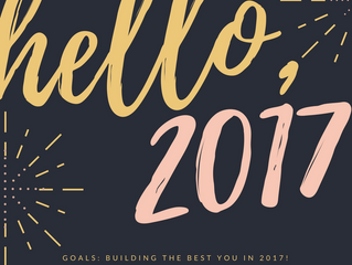 BUILDING THE BEST YOU IN 2017