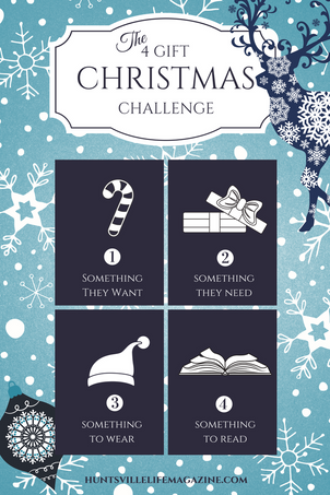 THE FOUR GIFT CHALLENGE