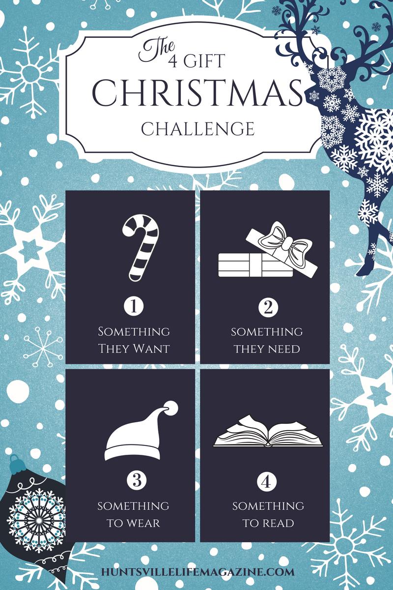 The 4 Christmas Gift Challenge