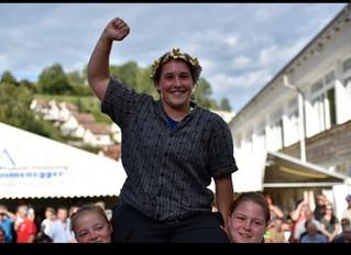 Michelle Brunner ist Schwingerkönigin 2019