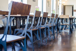 Mark 1 Chairs w/ Titus Bistro Tables