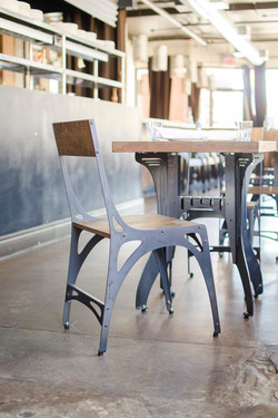 Mark 1 Chair and Titus Bistro Table