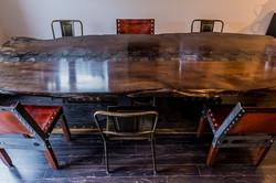 Live Edge Nautilus Table