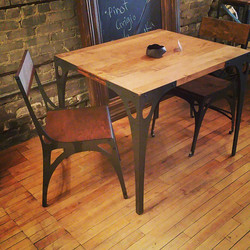 PK10 Slimline Square Table