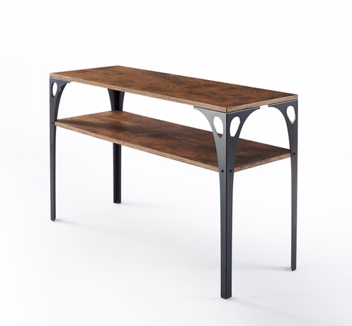 The PK10 Console Tableu0027s Sleek Lines And Fluid Curves Were Inspired By  Early Aviation Structural Design. Ships Flat And Simple To Assemble.