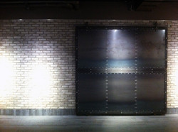 Decorative Sliding Door for The Bay