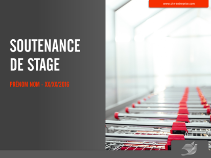 Soutenance de stage distribution