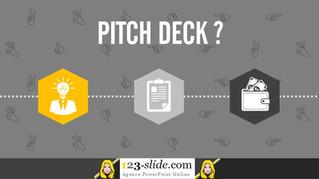 Un Pitch Deck quesako ?