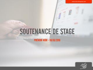Soutenance de Stage : comment structurer votre PowerPoint ?