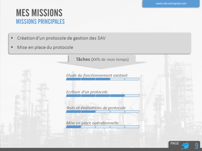Soutenance de stage Industrie