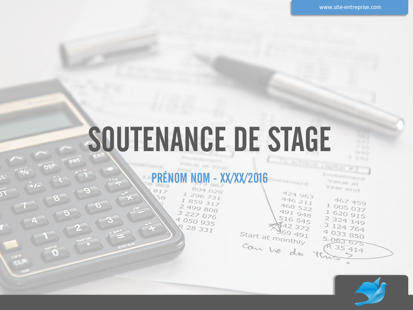 Soutenance de stage Compta Gestion