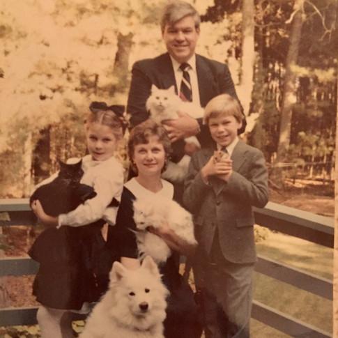 4th grade Family photo