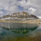 California Mountain Adventures - Mt. Humphreys from Humphreys lakes