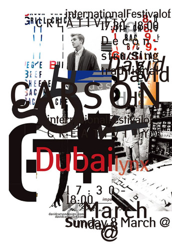 David Carson -  Typographic Design Genius