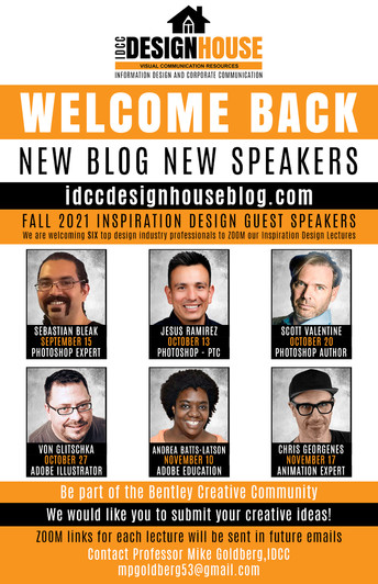 INSPIRATION DESIGN LECTURE FALL SCHEDULE