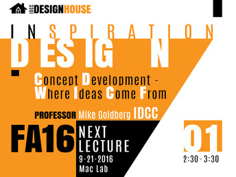 IDCC DESIGNHOUSE Inspiration Design Lecture Series