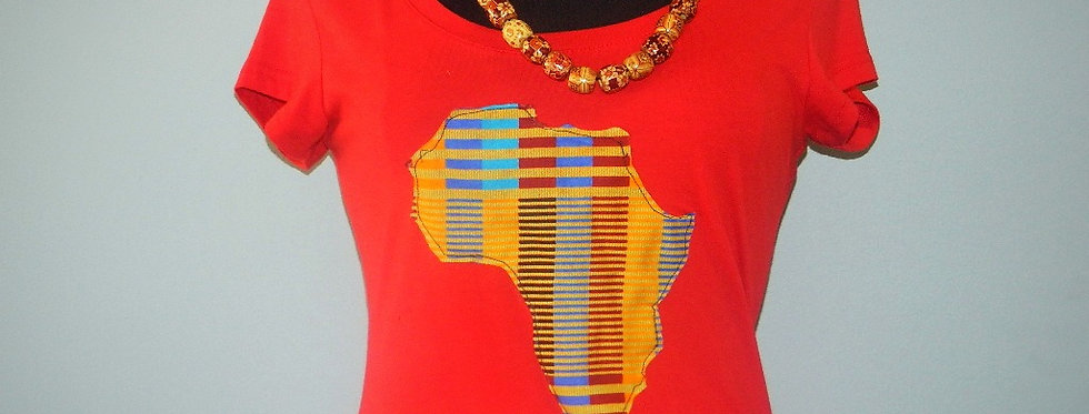 African Map T-Shirts