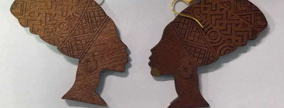 African Queen Earrings