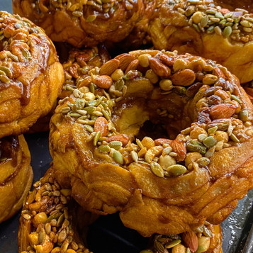 Butter King Kong: Mixed Nuts Donut