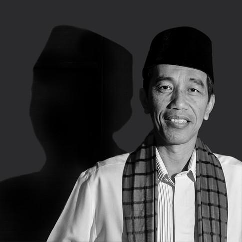 Joko Widodo - President of Republic Indonesia. Portrait Photography by Yunaidi Joepoet, Jakarta - Indonesia