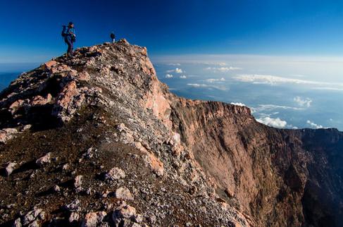 Kerinci - Highest Volcano Mountain in Southeast Asia. Travel Photography by Yunaidi Joepoet
