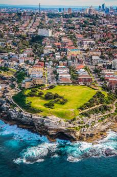 Aerial View of Sydney Australia by Yunai