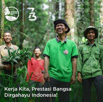Yunaidi Joepoet for Restorasi Ekosistem