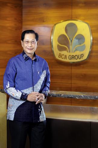 Jahja Setiaatmadja - President Director of Bank Central Asia Tbk. Portrait Photography by Yunaidi Joepoet - Jakarta, Indonesia