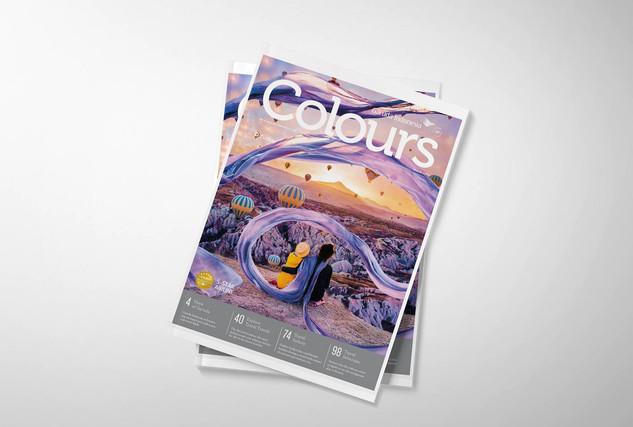 Editorial Photo Editing for Colours Garuda Indonesia