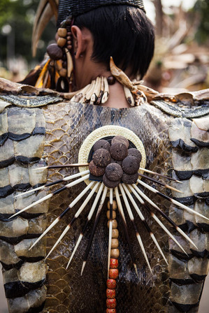 Dayak Traditional Tribe, East Borneo, Indonesia. Travel Photography by Yunaidi Joepoet