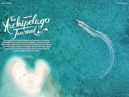 Anambas Islands - Editorial Photography for Colours Inflight Magazine of Garuda Indonesia Airlines