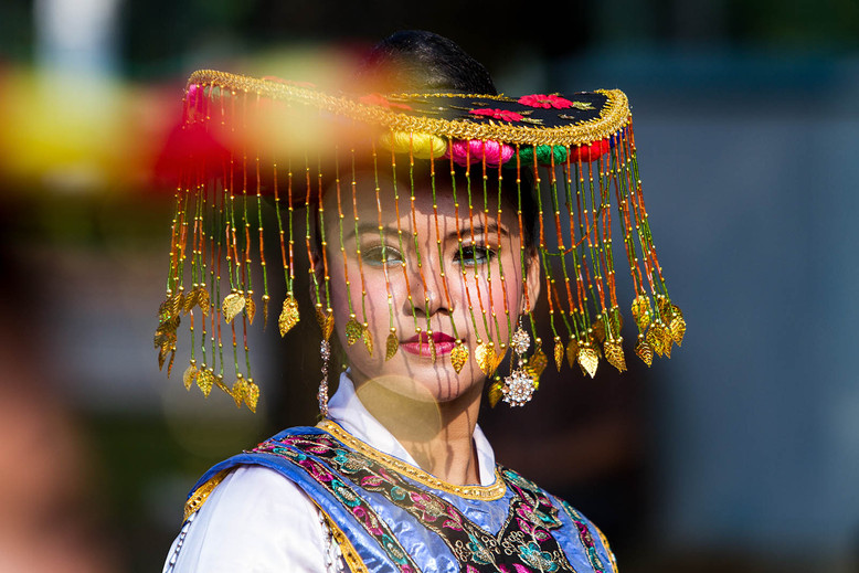 Betawi Traditional Mask Dance, Jakarta. Travel Photography by Yunaidi Joepoet