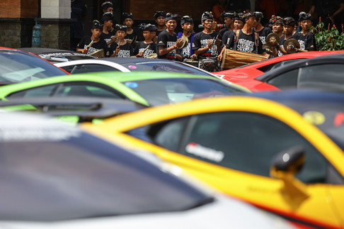 Supercar Touring Brotherhood Club Indonesia in Bali. Event and Conference Photography by Yunaidi Joepoet, Jakarta - Indonesia
