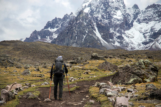 Apu Ausangate, Peru for Eiger Adventure. Travel and Adventure Photography by Yunaidi Joepoet