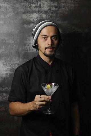 Andrian Ishak - Molecular Gastronomy Chef. Portrait Photography by Yunaidi Joepoet - Jakarta, Indonesia