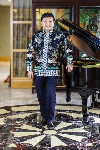 Iwan Setiawan Lukminto - President Director of Sritex. Portrait Photography by Yunaidi Joepoet - Jakarta, Indonesia