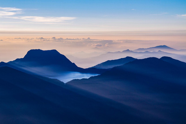 Bukit Barisan Mountain Range, Sumatra. Nature and Landscape Photography by Yunaidi Joepoet
