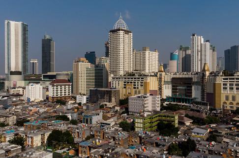 Jakarta Megapolitan. Aerial Photography by Yunaidi Joepoet - Jakarta, Indonesia